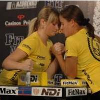Professional Fitmax League - Woman 60kg # Siłowanie na ręce # Armwrestling # Armpower.net
