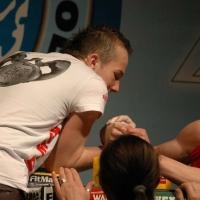 Mistrzostwa Polski 2008 - Prawa ręka # Armwrestling # Armpower.net