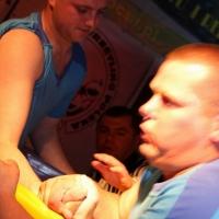 I Gala Gladiatorów - Ostróda (zdj. Damian Drzewiecki) # Siłowanie na ręce # Armwrestling # Armpower.net