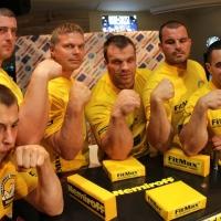 Nemiroff  2011 - Press Conference # Siłowanie na ręce # Armwrestling # Armpower.net