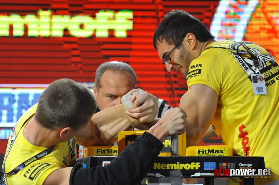 Nemiroff 2012 - Left Hand # Armwrestling # Armpower.net