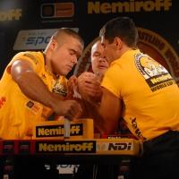 Nemiroff World Cup 2007 # Siłowanie na ręce # Armwrestling # Armpower.net