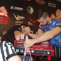 Prawa ręka - Mistrzostwa Polski 2017 Szczyrk # Armwrestling # Armpower.net