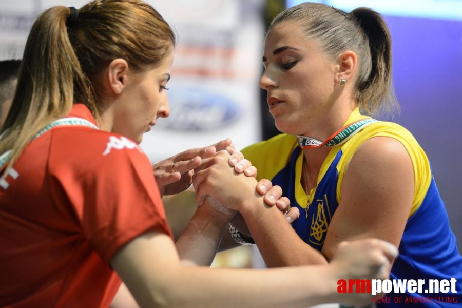 EuroArm2018 - day1 - juniors left hand # Siłowanie na ręce # Armwrestling # Armpower.net